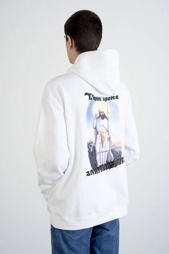 Zarathustra Hoodie By RECKLE$$ - white