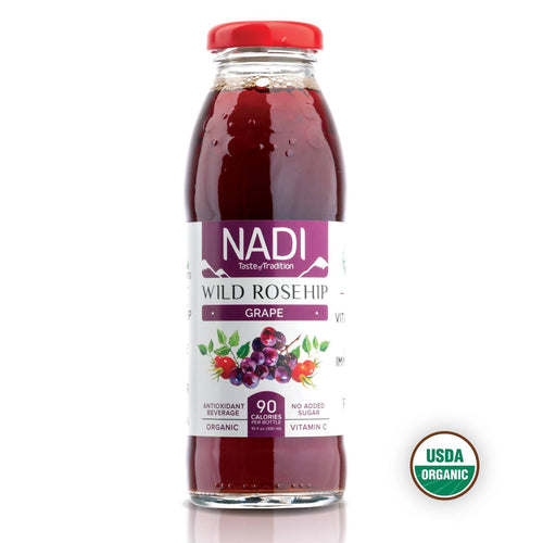 NADI - Wild Rosehip - Grape - Organic Juice - 12pk