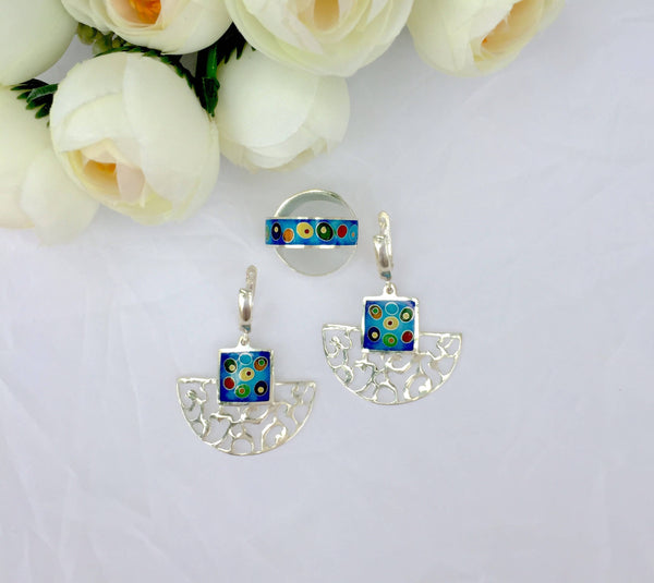Earring-Ring Set