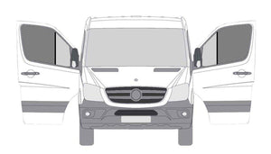 Sprinter Front Door Mosquito Screen -  Driver and Passenger - Ripplewear