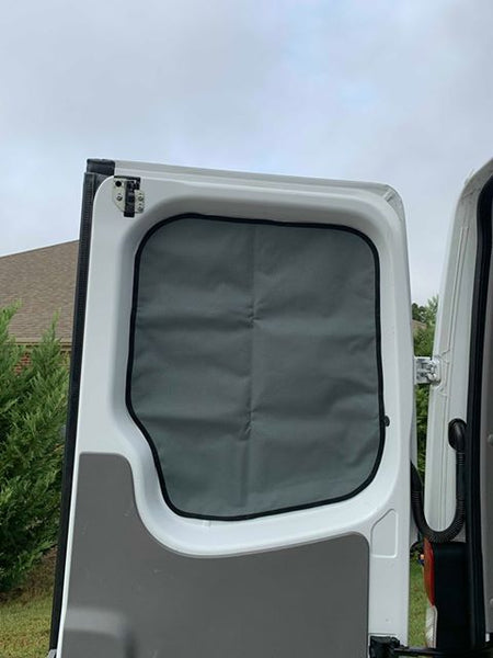 Sprinter Front Window Insulated Privacy Covers - Driver and Passenger - Ripplewear
