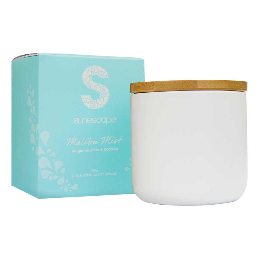 Triple Scented Soy Candle (4 fragrances)