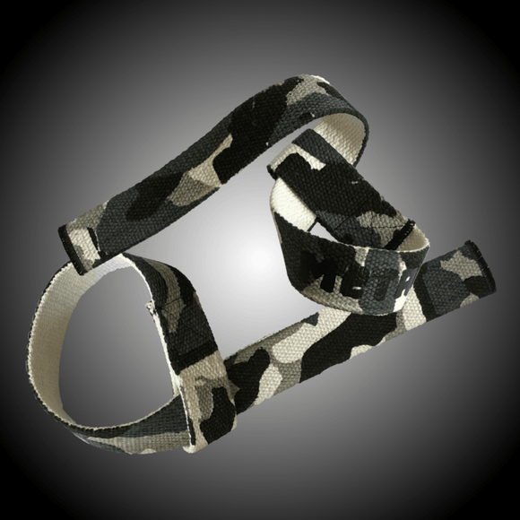 Metal Sport - Green Camo Lifting Straps