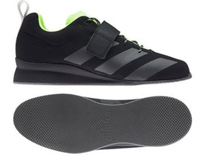 Adidas AdiPower II - Black/Green
