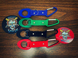 Skull Smash® Bottle strap, with carabiner