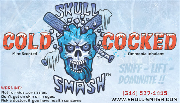 Cold Cocked Skull Smash Ammonia Inhalent