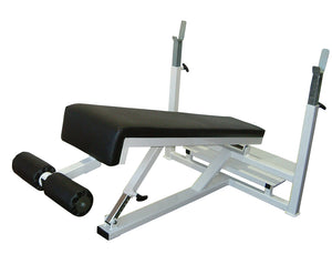 Pullum Pro-B Flat/Decline Bench with Stands and Spotter
