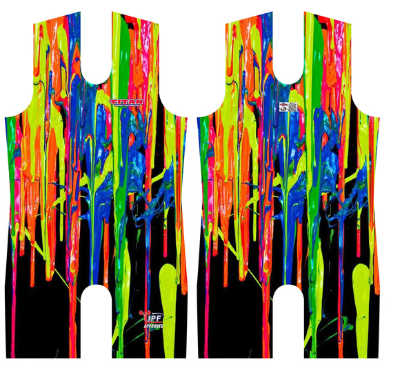 Titan Triumph Drip Sublimated Singlet Leotard