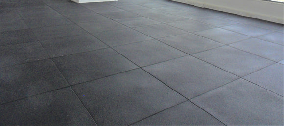 HIGH DENSITY GYM FLOORING TILE - 20MM OR 30MM