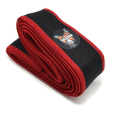 Metal Sport - Black 'n Red Knee Wraps