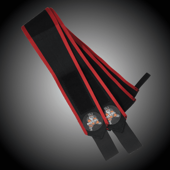 Metal Sport - Black'n Red Wrist Wraps