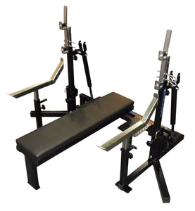 Pullum Powerlifting Competition Combi Bench/Tilt Stands