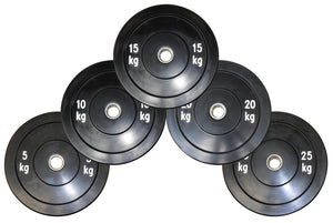 Black Bumper Training Disc - Great Training disc for all lifts