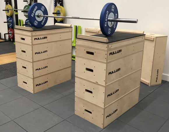 Pullum Wooden Jerk Box/Jerk Block