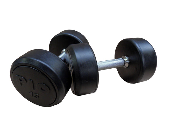Pioneer Solid Rubber Dumbbells Pairs