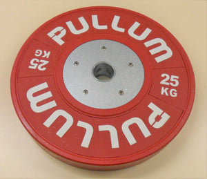 Pullum 140kg Coloured Competition/ Training Discs Set