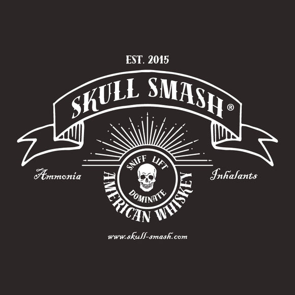 American Whiskey Scented Skull Smash T-Shirt