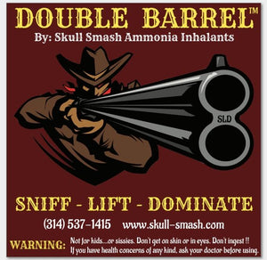 Double Barrel Skull Smash Ammonia Inhalent