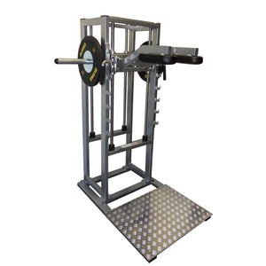 Pullum Pro-D Vertical Squat Machine/Calf Raise