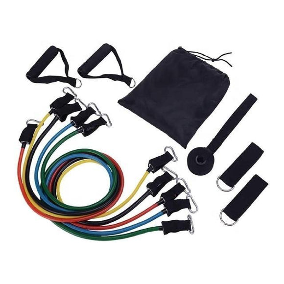 Pullum Resistance Tube Set with accessories