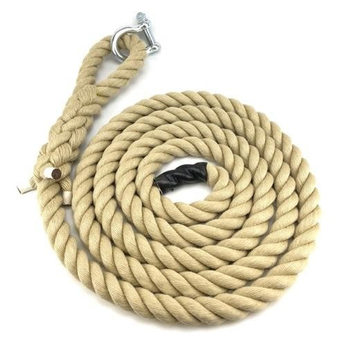 Climbing Rope 36mm Synthetic Poly Hemp With 6 Loop Pullum Sports