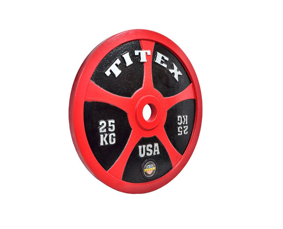 Titex IPF METAL POWERLIFTING DISCS