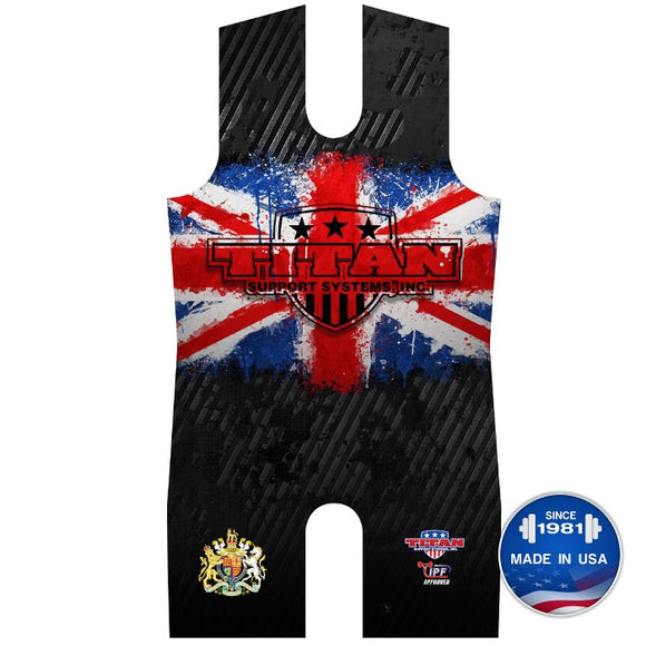 Titan Triumph UK Sublimated Singlet Leotard