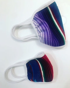 10 Assorted Children's Serape Masks