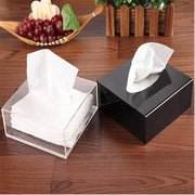 Acrylic Tissue Box - Luxelabeled