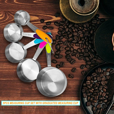 5Pcs Measuring Spoons Set - Luxelabeled