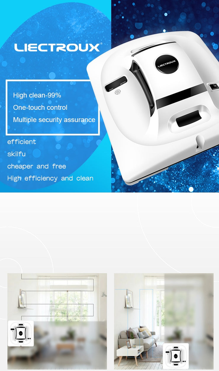 X6 Robot Antifall Window Cleaner - Luxelabeled