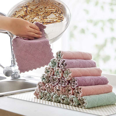 Super Absorbent Microfiber Towel Cloth - Luxelabeled