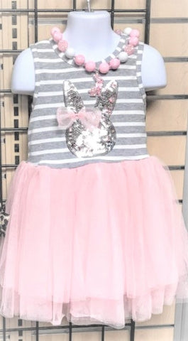 Sequin Bunny Tutu Dress