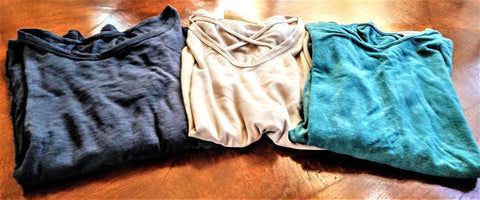Long Sleeve Solid Knit Tops