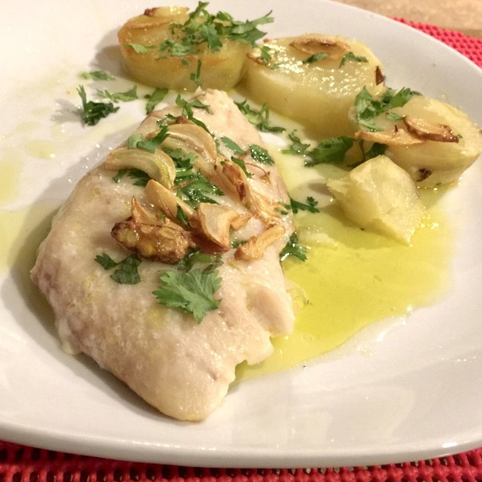 Garlic Codfish