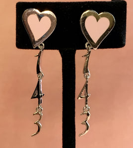 The Original Hey Heart 143 Earrings