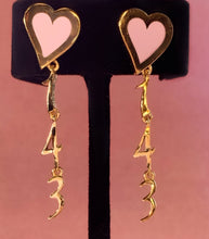 Load image into Gallery viewer, The Original Hey Heart 143 Earrings