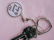 Load image into Gallery viewer, The Original Hey Heart 143 Keychain