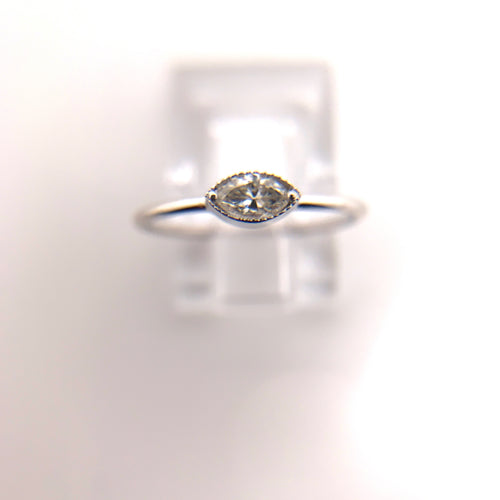 Marquise Diamond White Gold