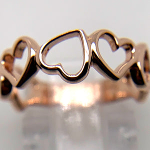 Hey Heart 143 Doodle Ring