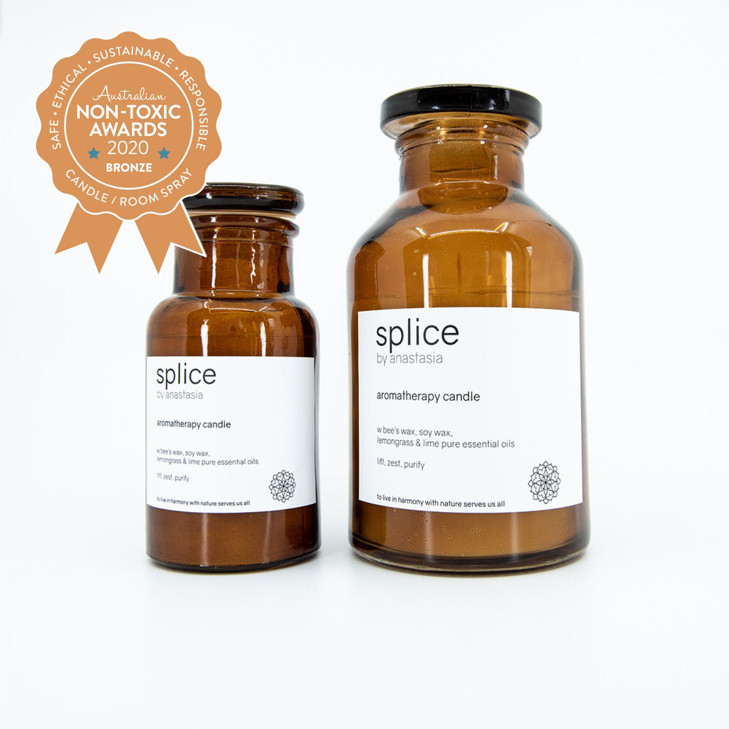 splice aromatherapy candle