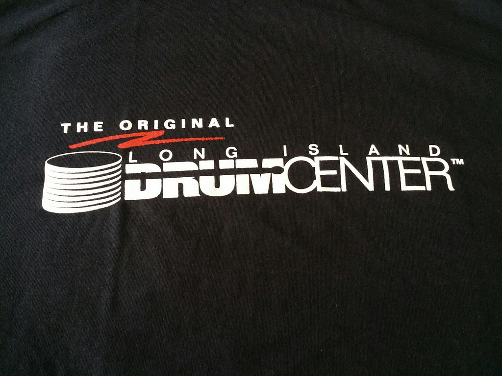 Long Island Drum Center logo shirt