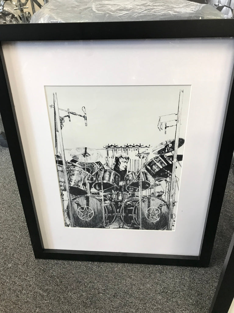 Neil Peart /John Bonham Collectible Wall Poster