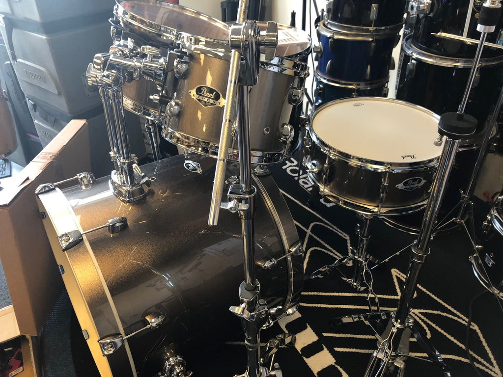 Pearl 5 piece Export with Hardware & Cymbals