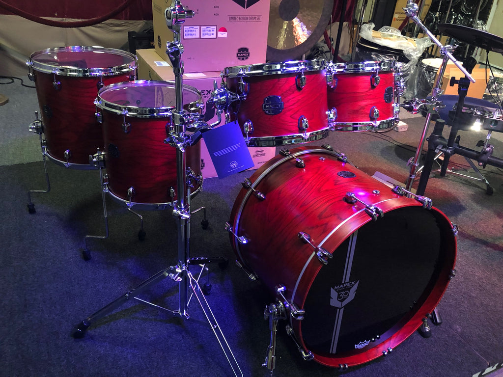 Mapex 30th Anniversary Drum Set