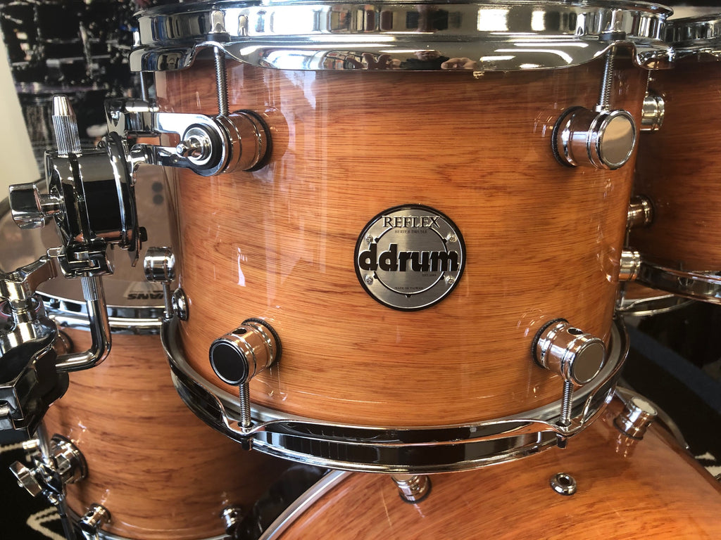 Ddrum 5 piece Reflex drum set/hardware