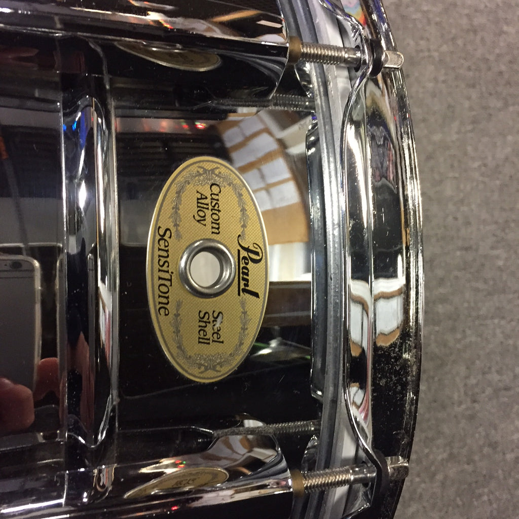 Pearl 6 1/2x14 sensitone snare drum