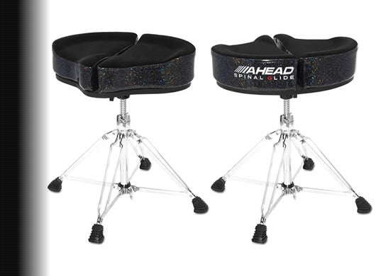 Ahead Spinal G Drum Throne-Black Seat Top