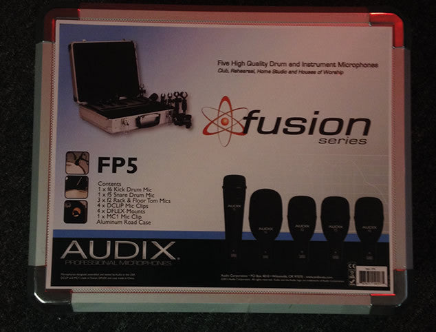 Audix 5 Mic package