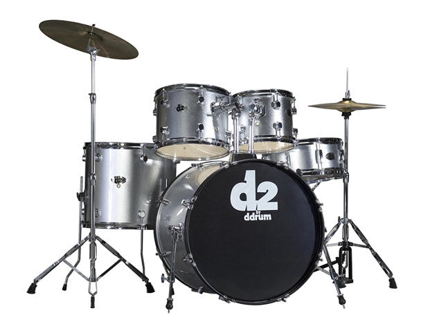 DDRUM D2 Beginner Drum Set Complete w/Cymbals and Hardware